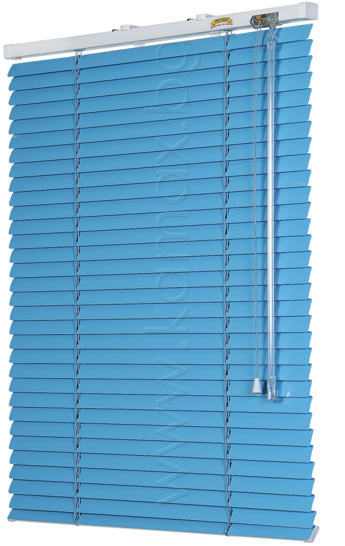 Venetian blinds model Front glass