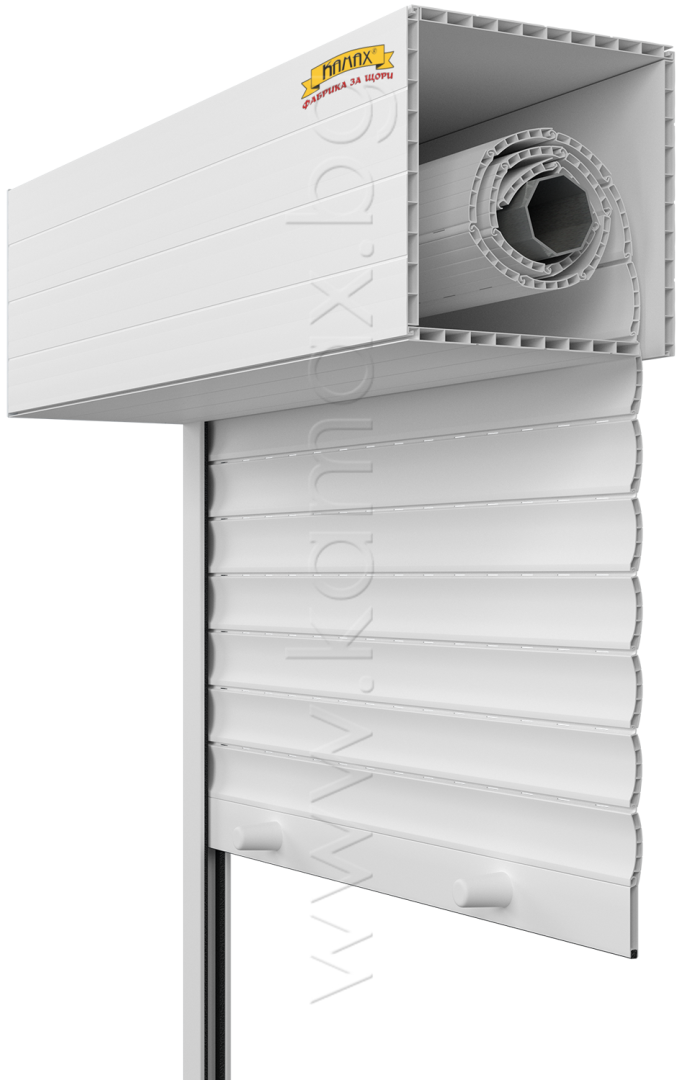 Външни ролетни щори модел PVC