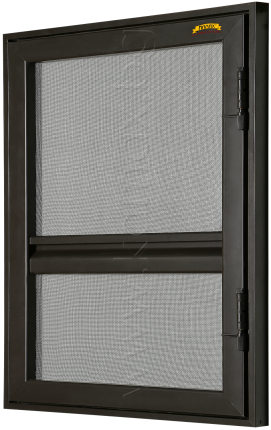 Fixed door insect screen Prestige
