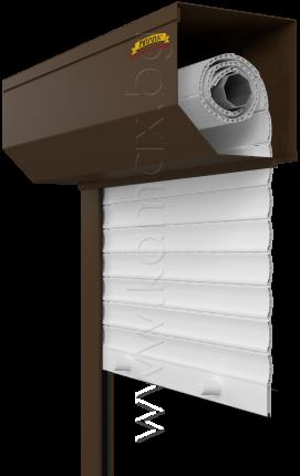 Външни ролетни щори модел PVC 2 изображение