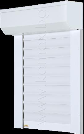 Aluminum exterior roller shutters model H 52 image