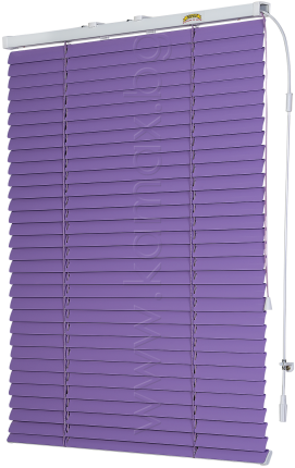 Venetian blinds between glass image