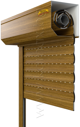 Aluminum exterior roller shutters model H 39 image