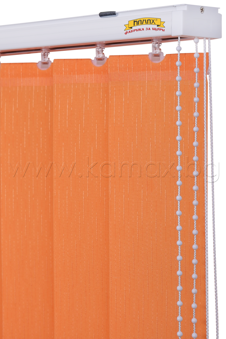 Vertical blinds - Aluminum Track System K01
