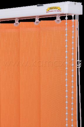 Вертикални щори - Алуминиева релса K 01 изображение