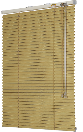 Venetian blinds model Front glass Black Out image