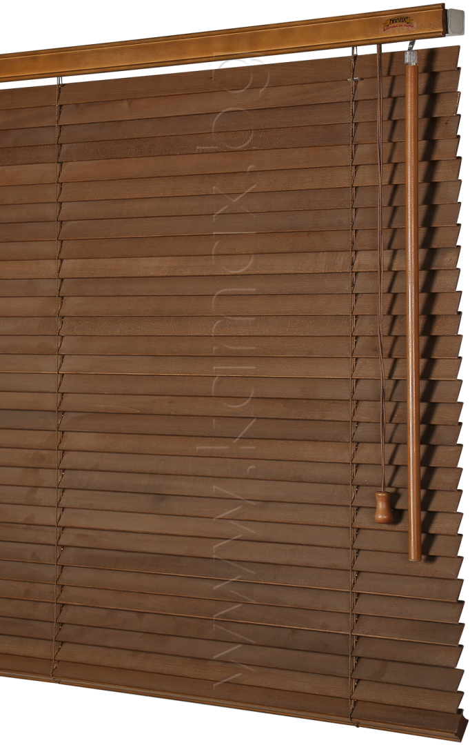 Wooden venetian blinds 25 mm