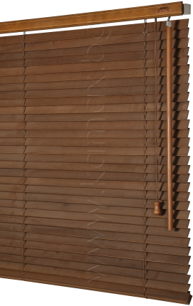 25mm Wooden venetian blinds image