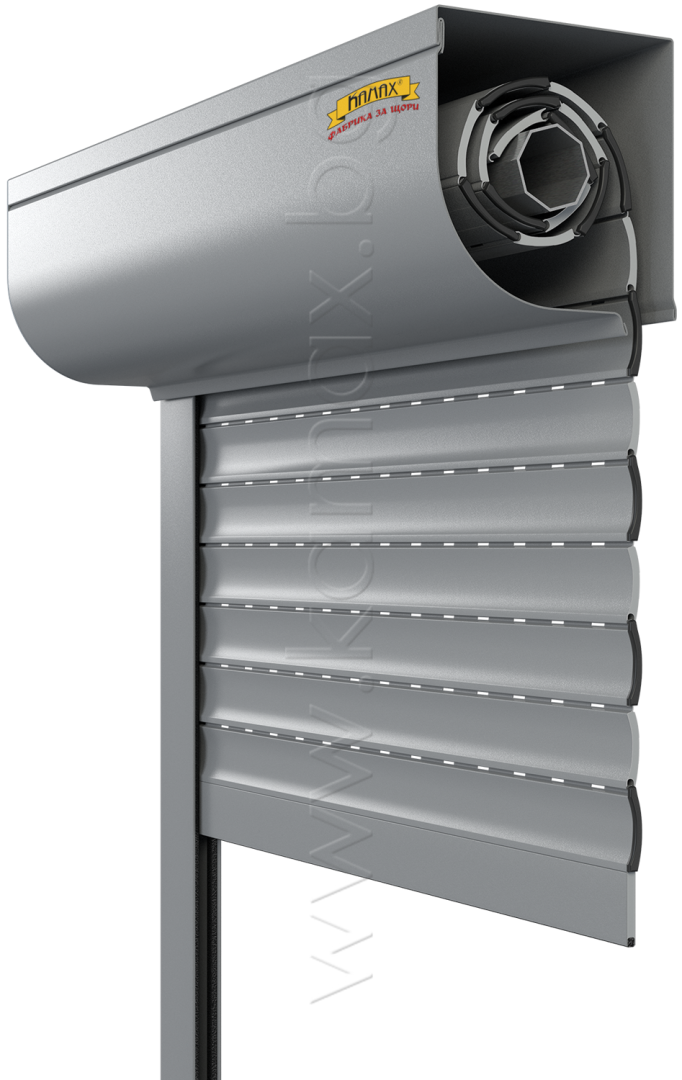 Aluminum exterior rollers shutters model H 39 R