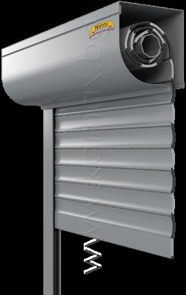 Aluminum exterior rollers shutters model H 39 R
