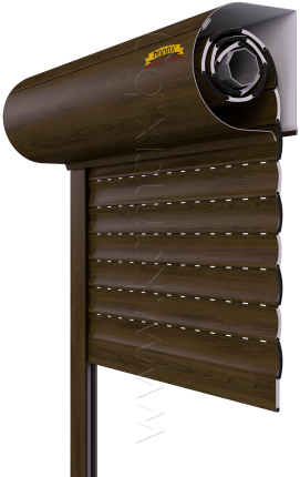 Aluminum exterior roller shutters model H 39 R2