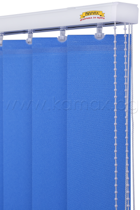 Vertical blinds - Aluminum Track System EOS