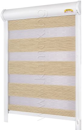 Roller blinds model Zebra Elegance