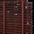 Дървени хоризонтални щори изображение