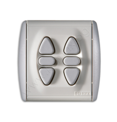 double switch for built in mounting image