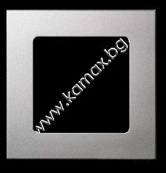 рамка за Smoove бутон цвят сребрист изображение