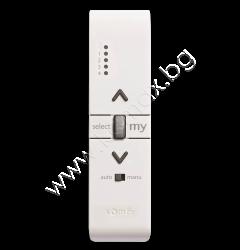 дистанционно Somfy Variation 5 iO Pure с 4+1 канала + скрол бутон за завъртане на ламелите изображение