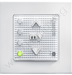 бутон Smoove 4 iO Origin с 4 отделни канала с рамка, 4 канала, цвят бял изображение