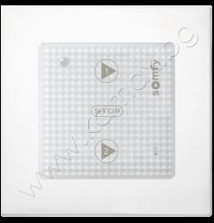 бутон Scenario Player iO с рамка, 2 сценария, цвят бял изображение