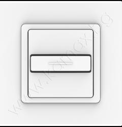 единичен ключ Smoove Uno WT за вграден монтаж изображение