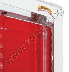 алуминиева рамка за монтаж без пробиване Perfect Fit, цвят бял изображение